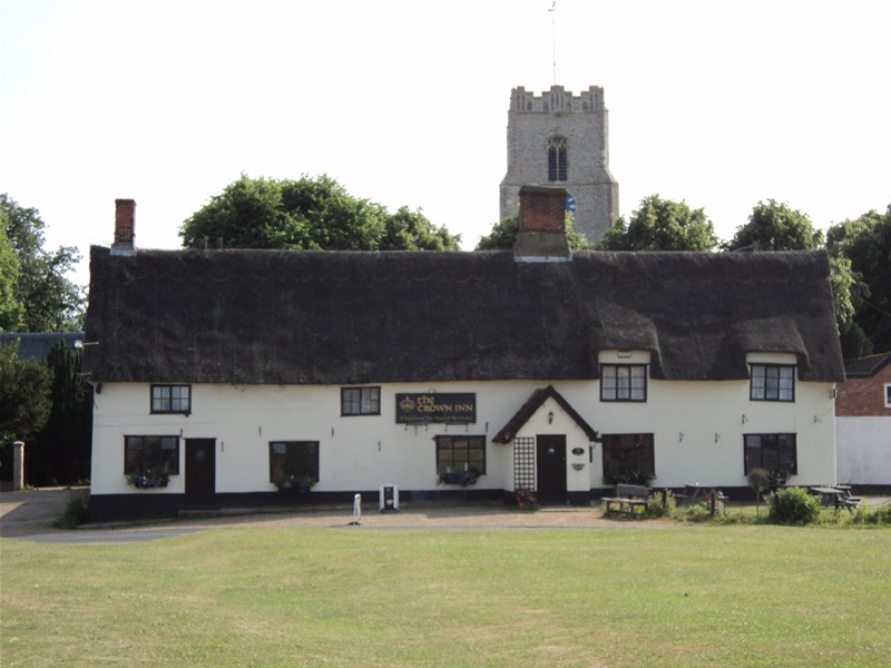Pulham Market, a delightful village just 5 miles from Harleston
