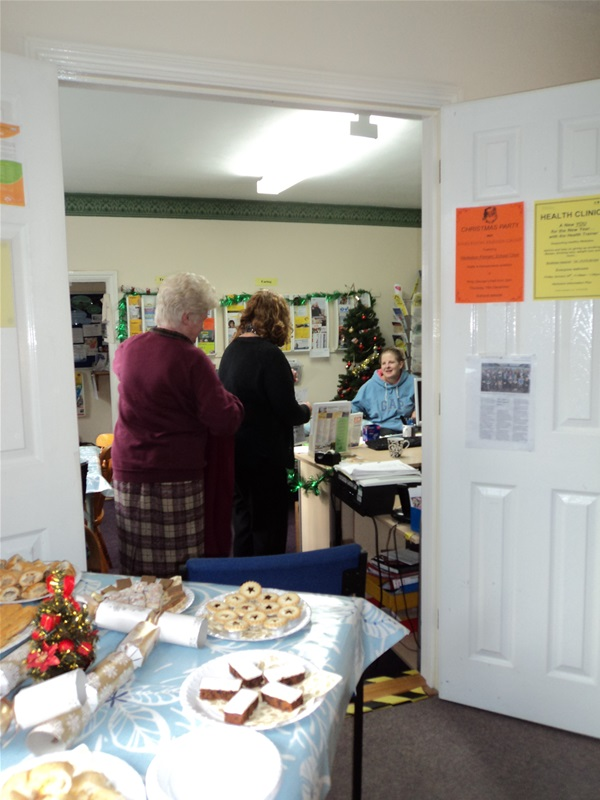 Tea & Chat Party at the Information Centre