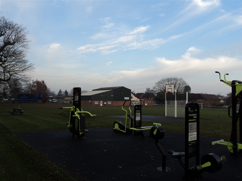 Outdoor Gym on The Recreation Ground, Harleston
