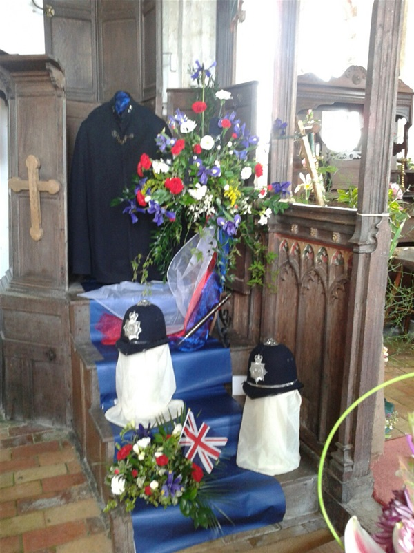 Billingford Church celebrates the Queen's Jubilee
