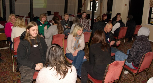 Jobs Club on Show Away Day at The Swan Hotel - Friday 13th February