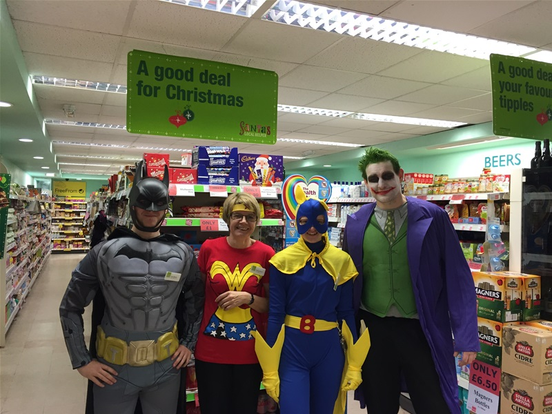 Co-Operative Dresses Up to raise money for HIP